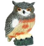 STV Owl Garden Ornament/ Bird Deterrent